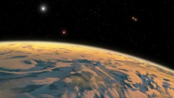 First Planet with Four Suns Discovered - 27 Science Fictions That Became Science Facts in 2012
